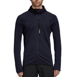 Adidas outdoor tracerocker fleece jacket in Small